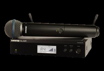 Аренда Ручной радио микрофон SHURE BLX24RE/B58 K3E в г.Ростов-на-Дону и ЮФО
